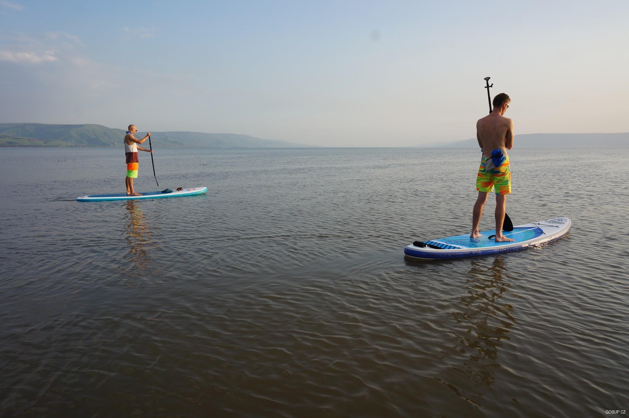 Izrael: Galilejské jezero