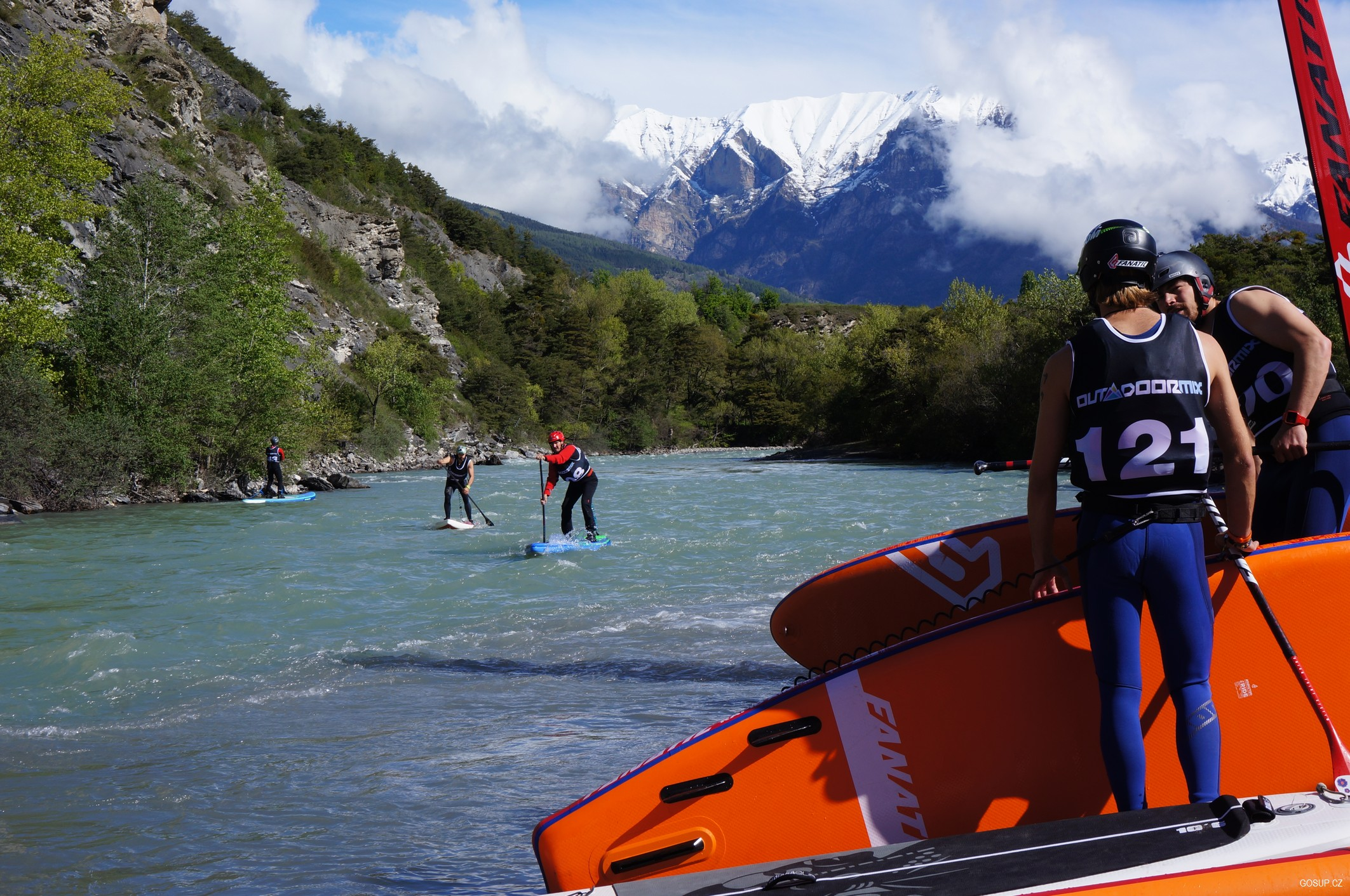 Francie: Řeka Durance