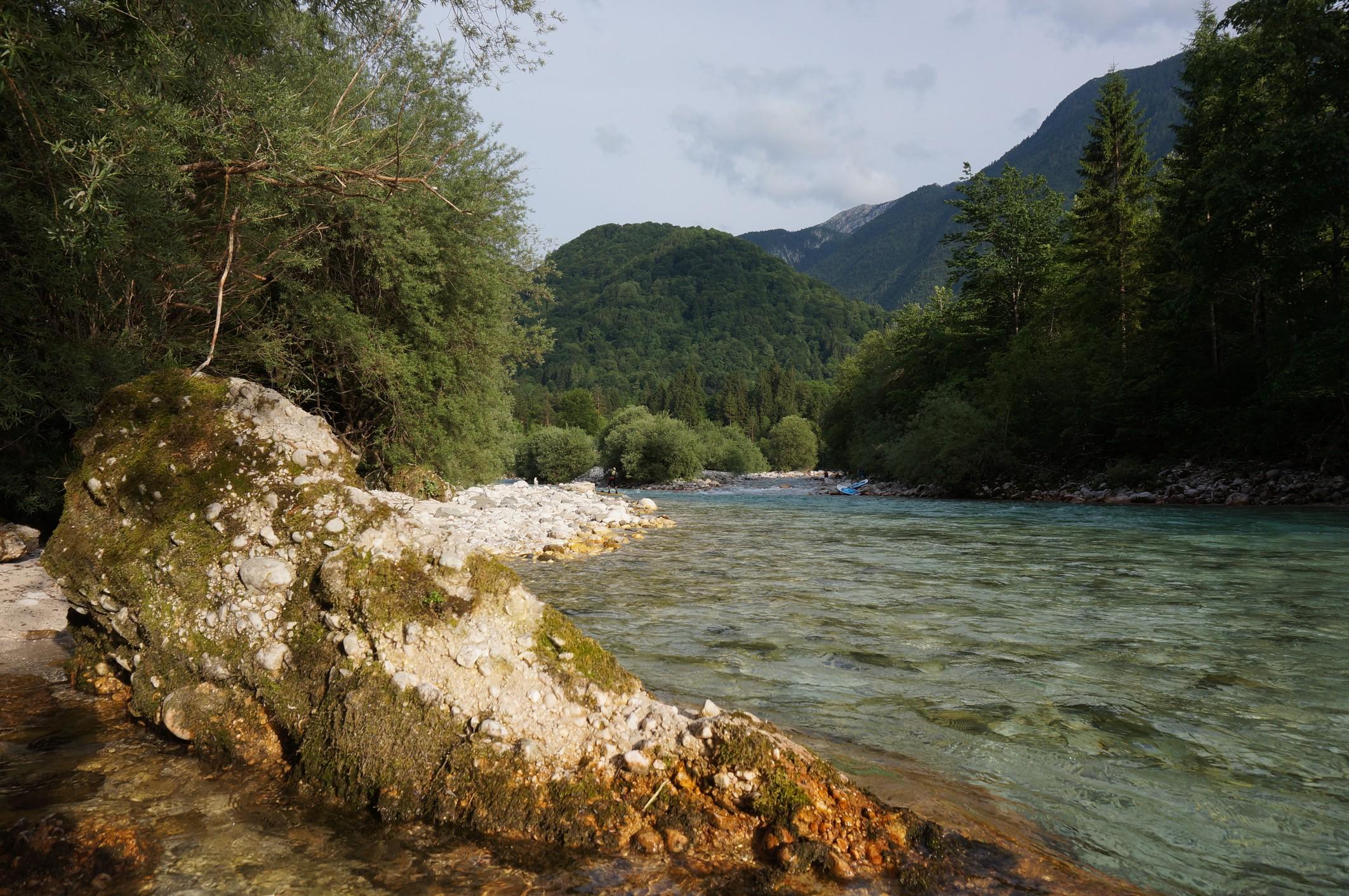 Slovinsko: Řeka Soča