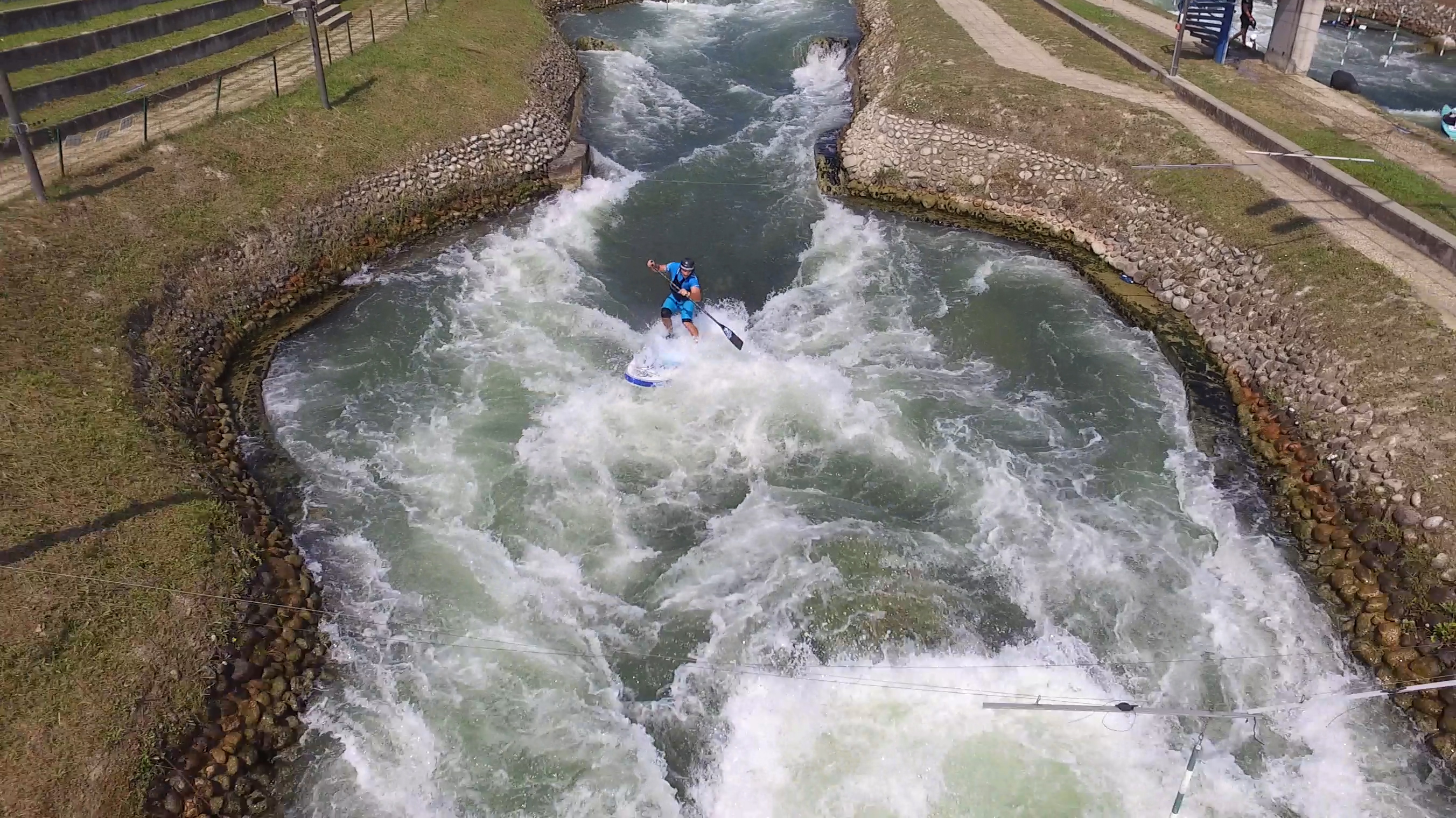 VIDEO: Right variant of slalom course in Cunovo