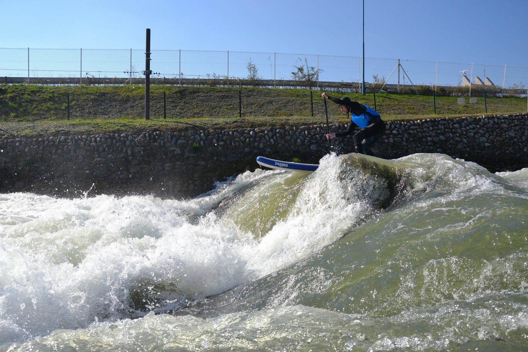 Extrémní paddleboarding