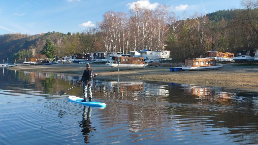 Czechia: Slapy Water Reservoir
