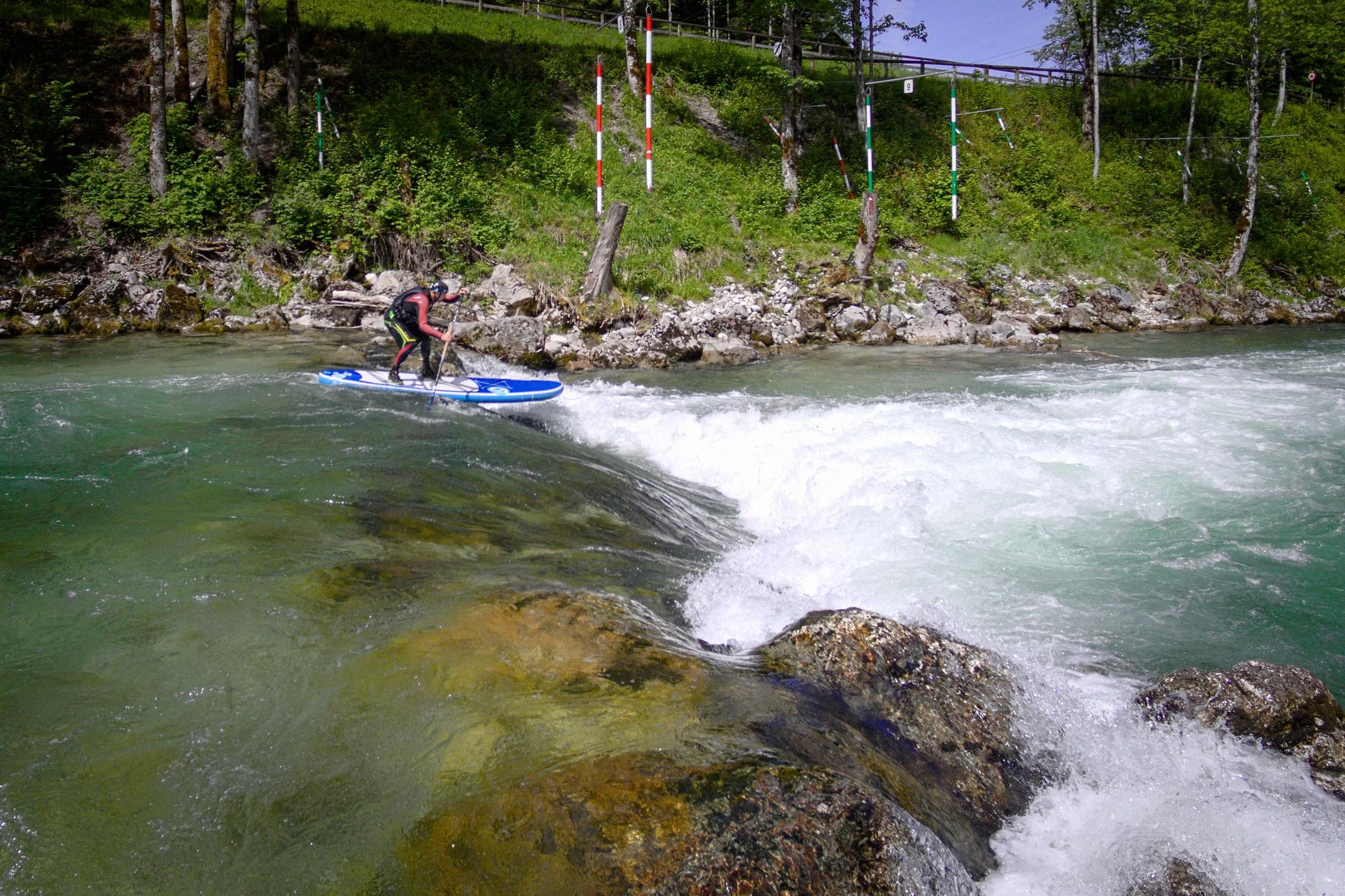 Rakousko: Slalomová trať ve Wildalpenu