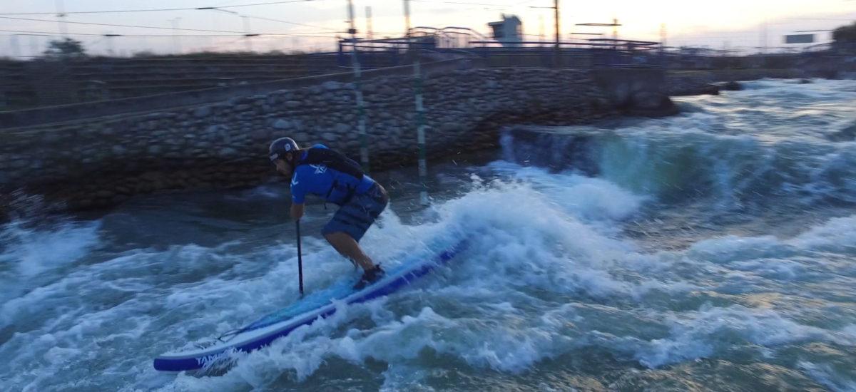 VIDEO: Večerní jízda v Čunově – levá varianta