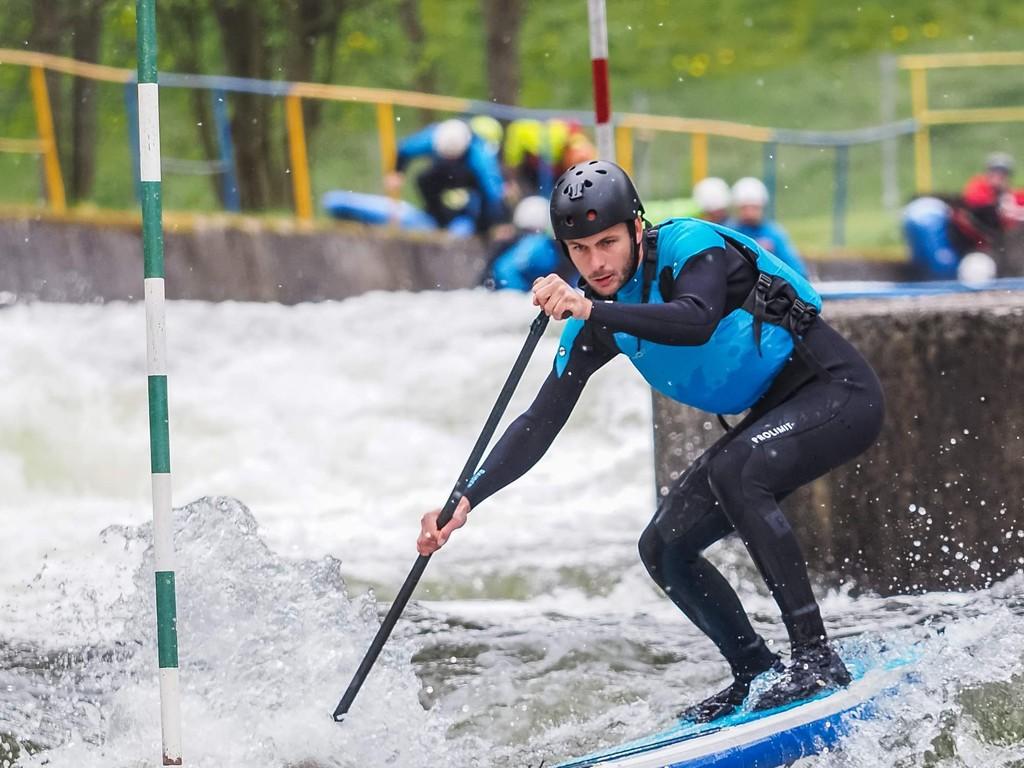 Trnávka na paddleboardu