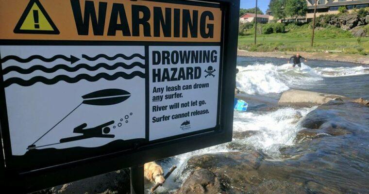 Leash na kotníku zabíjí na řekách surfaře i paddleboardisty